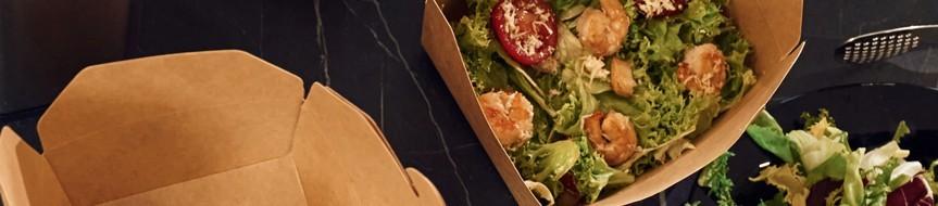 Barquette en carton écologique pour restauration rapide